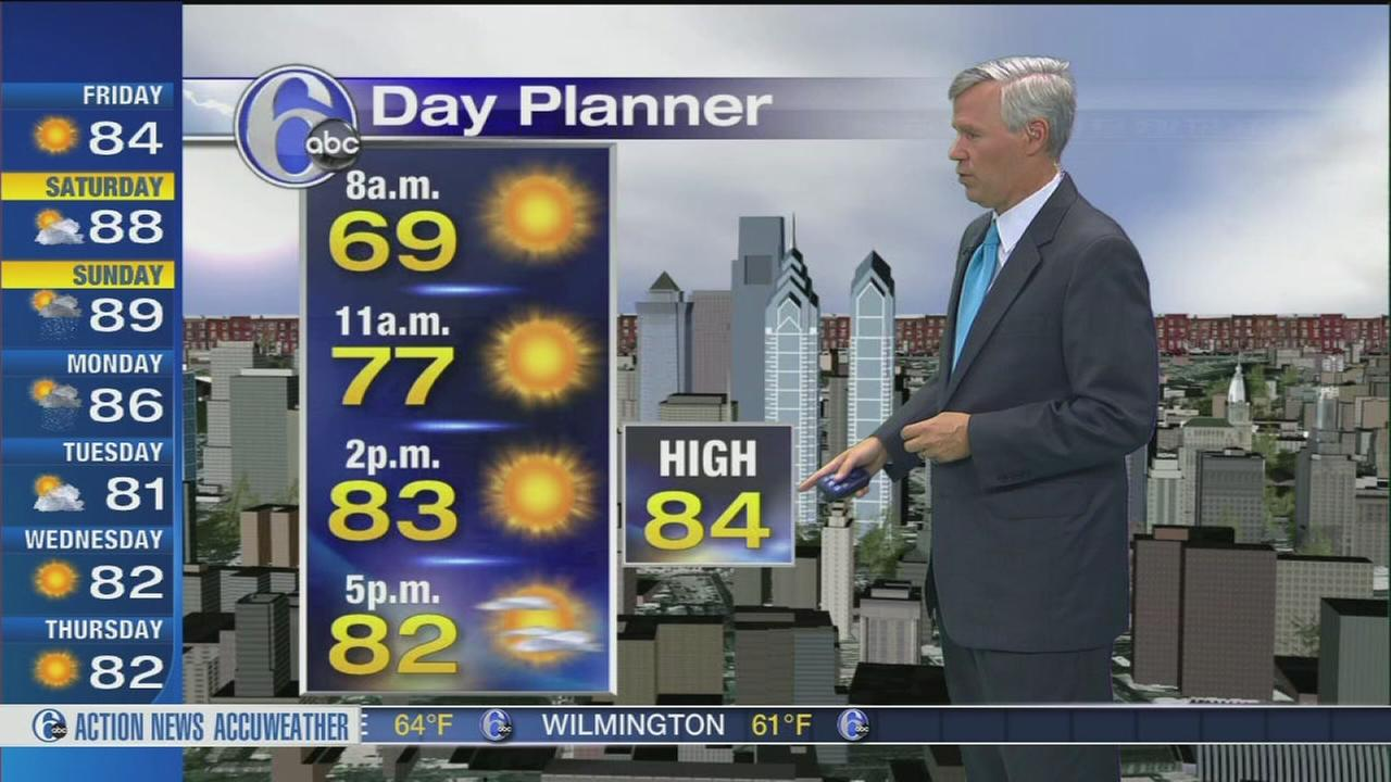 VIDEO: David Murphy with AccuWeather