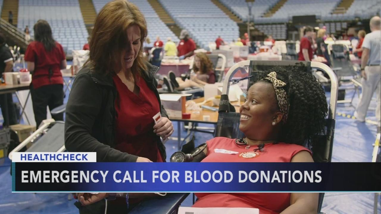 Red Cross asks for blood donors; numbers extremely low