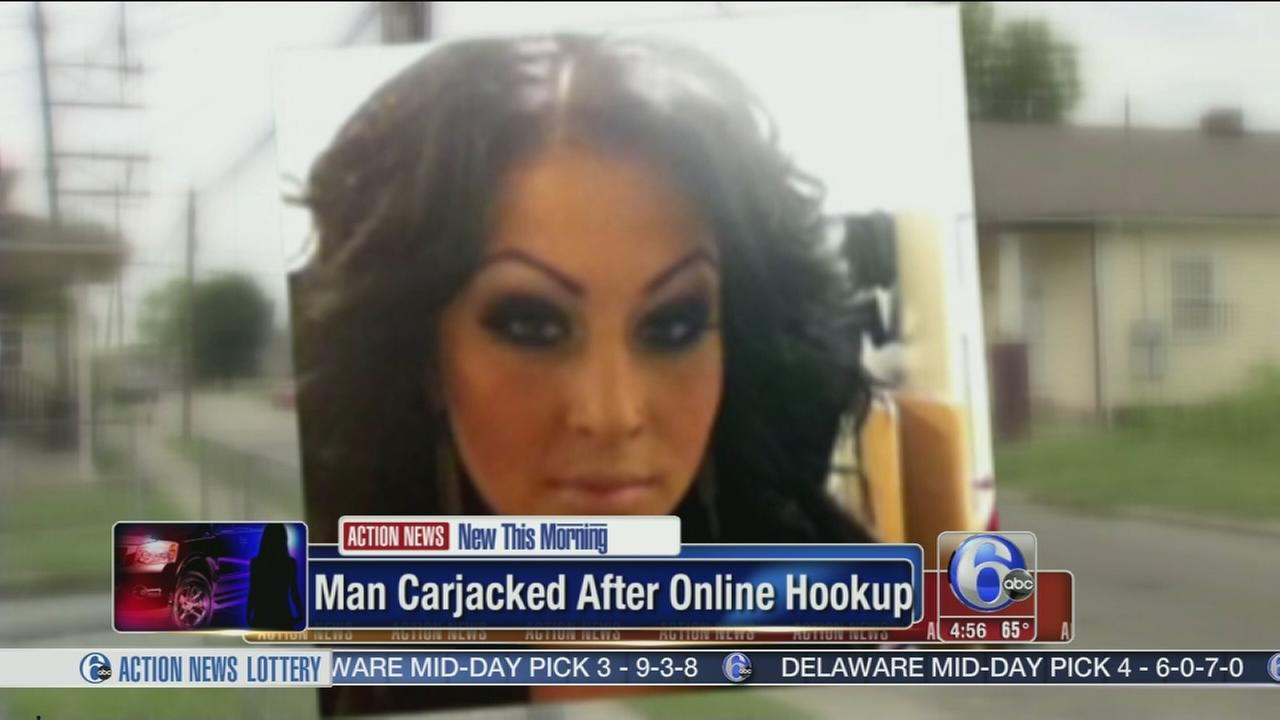 VIDEO: Man carjacked after online hookup