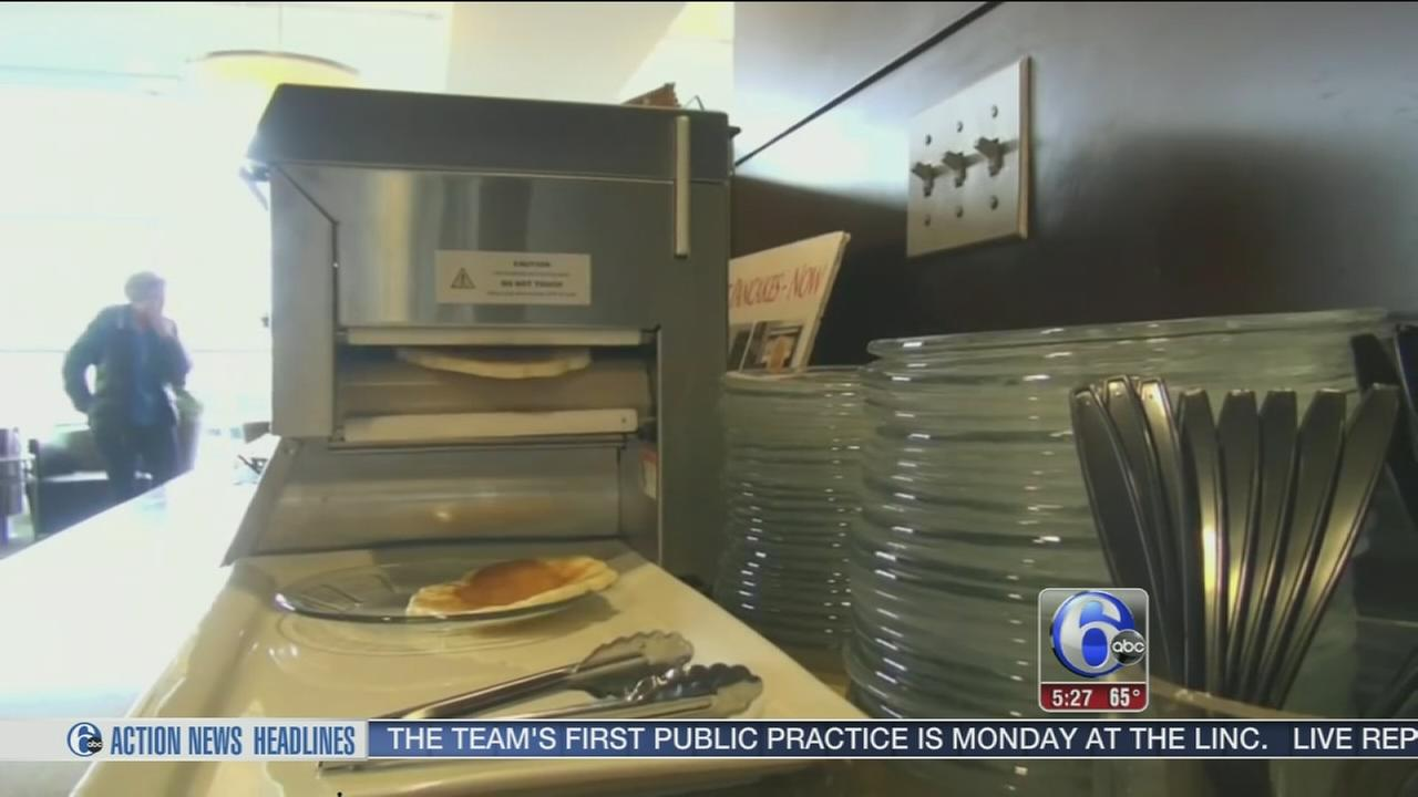 VIDEO: Check out the Alaska Airlines pancake printer