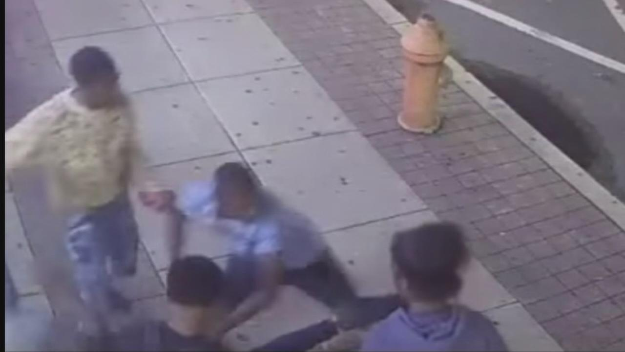 Attack suspects caught on camera in Center City