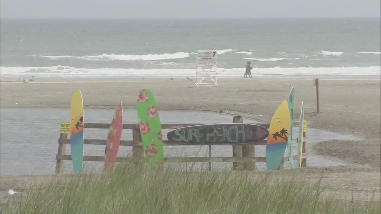 Wildwood opens surf beach