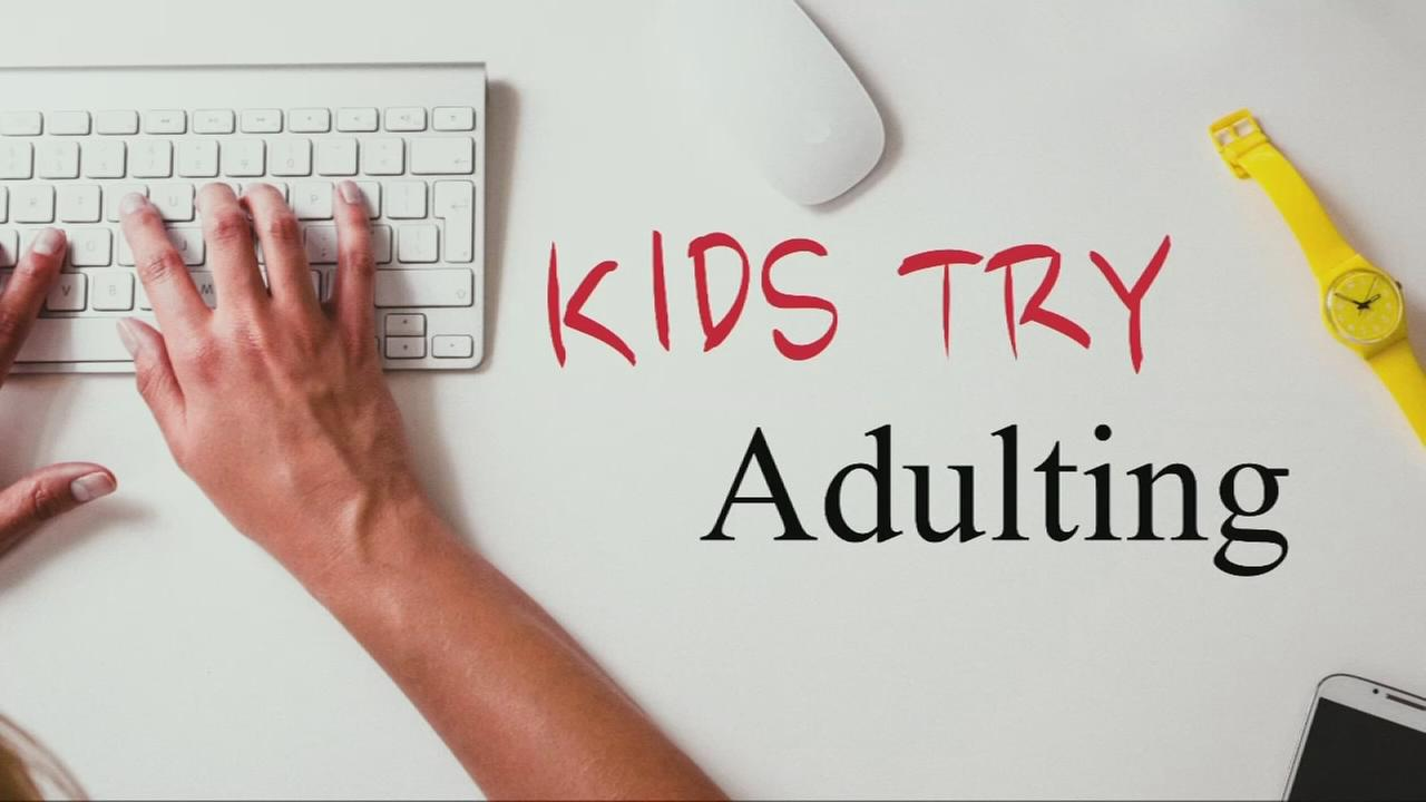 VIDEO: Kids try adulting