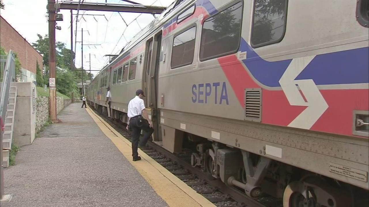 First responders hailed heroes after a SEPTA train rescue