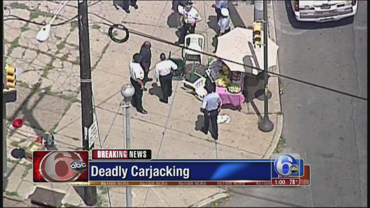 VIDEO: 2 dead, 5 hurt in carjacking crash