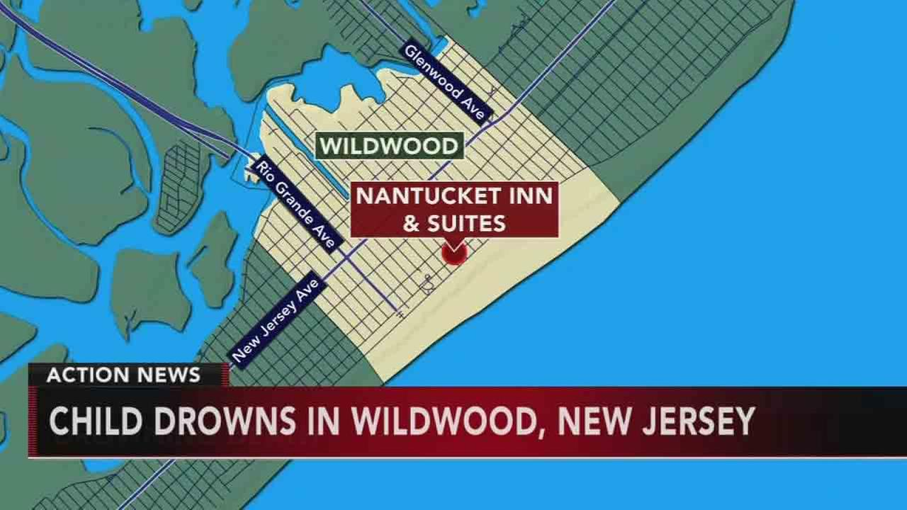 Young girl drowns at Wildwood motel pool