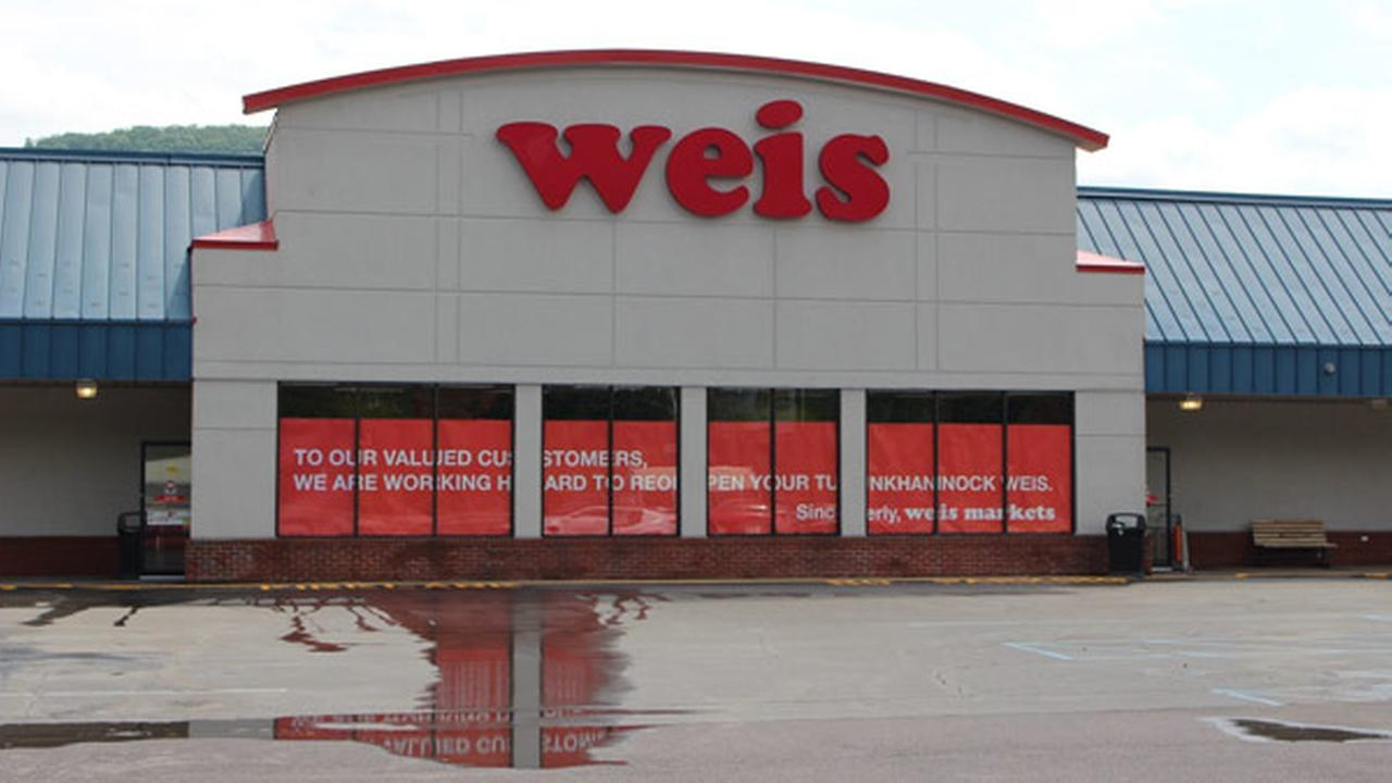 The exterior of the Weis Markets Inc. store in Tunhannock, Pennsylvania, is seen in this July 6, 2017 photo.
