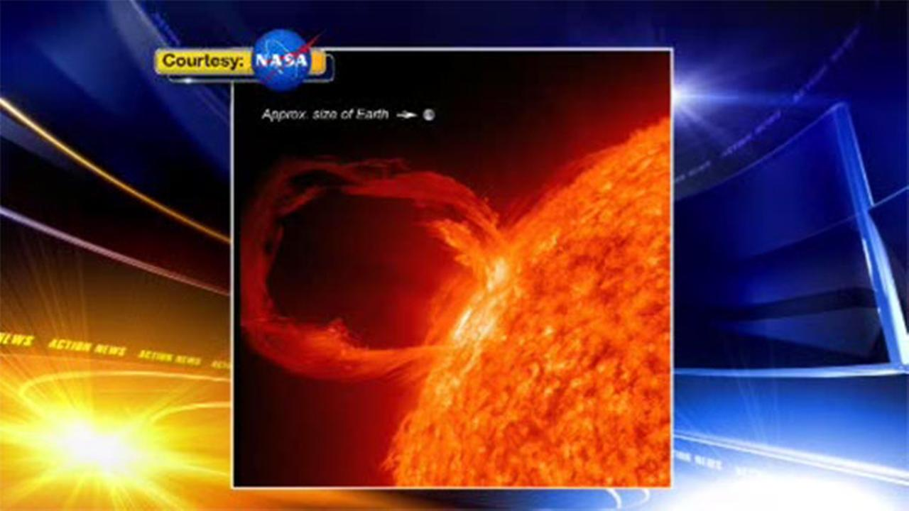 NASA: Huge solar flare nearly hit earth in 2012