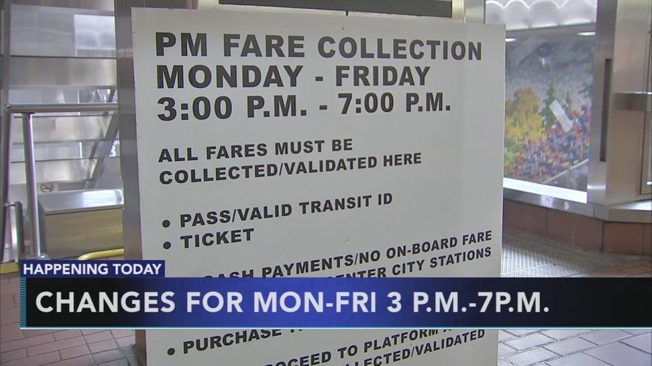 SEPTA fare collection changes