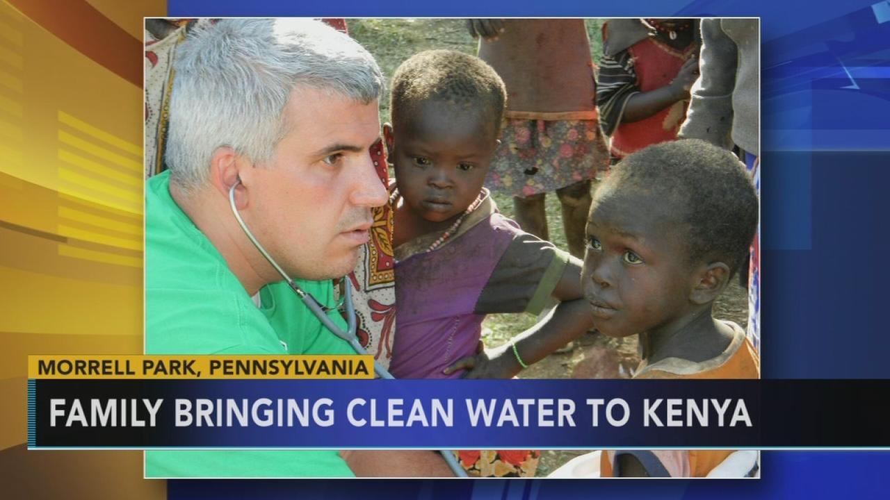 Bucks County family bringing clean water to Kenya