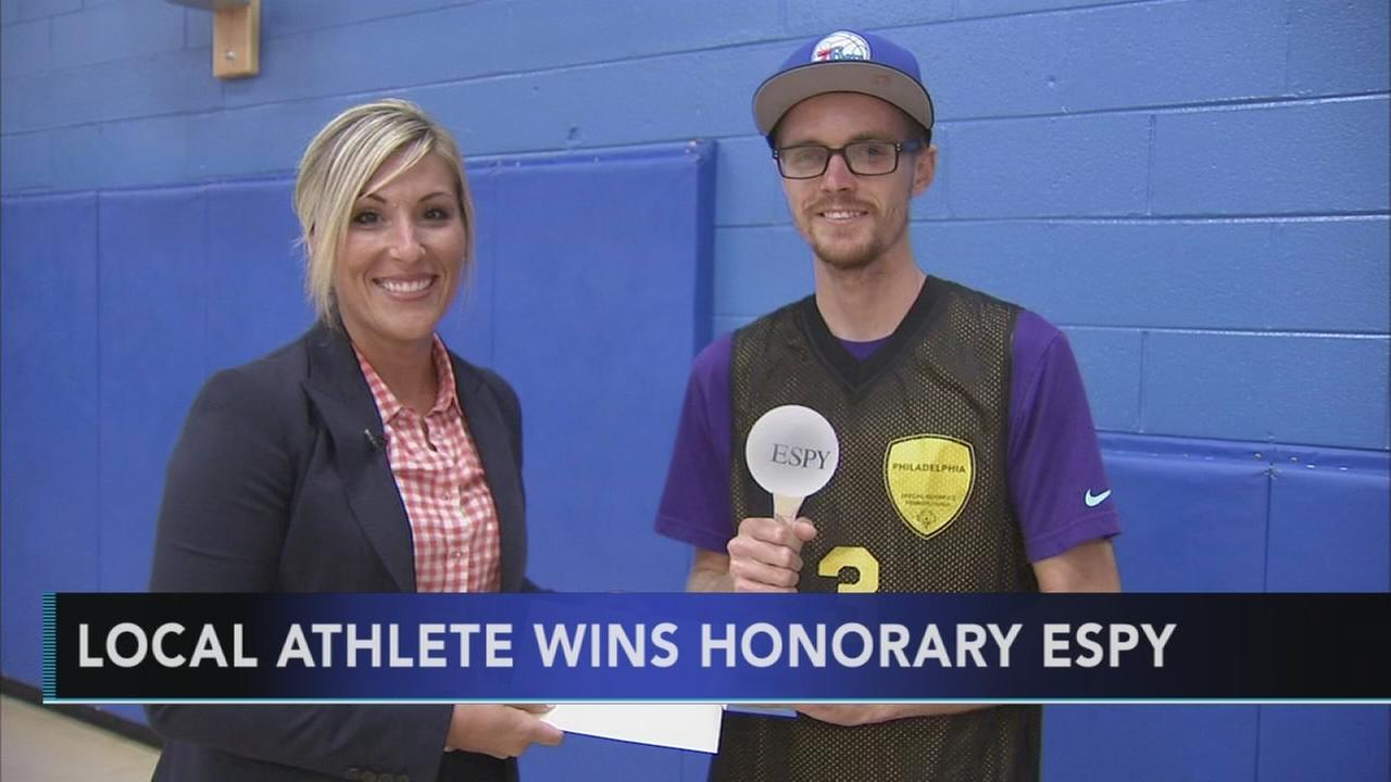 Local athlete wins honorary ESPY