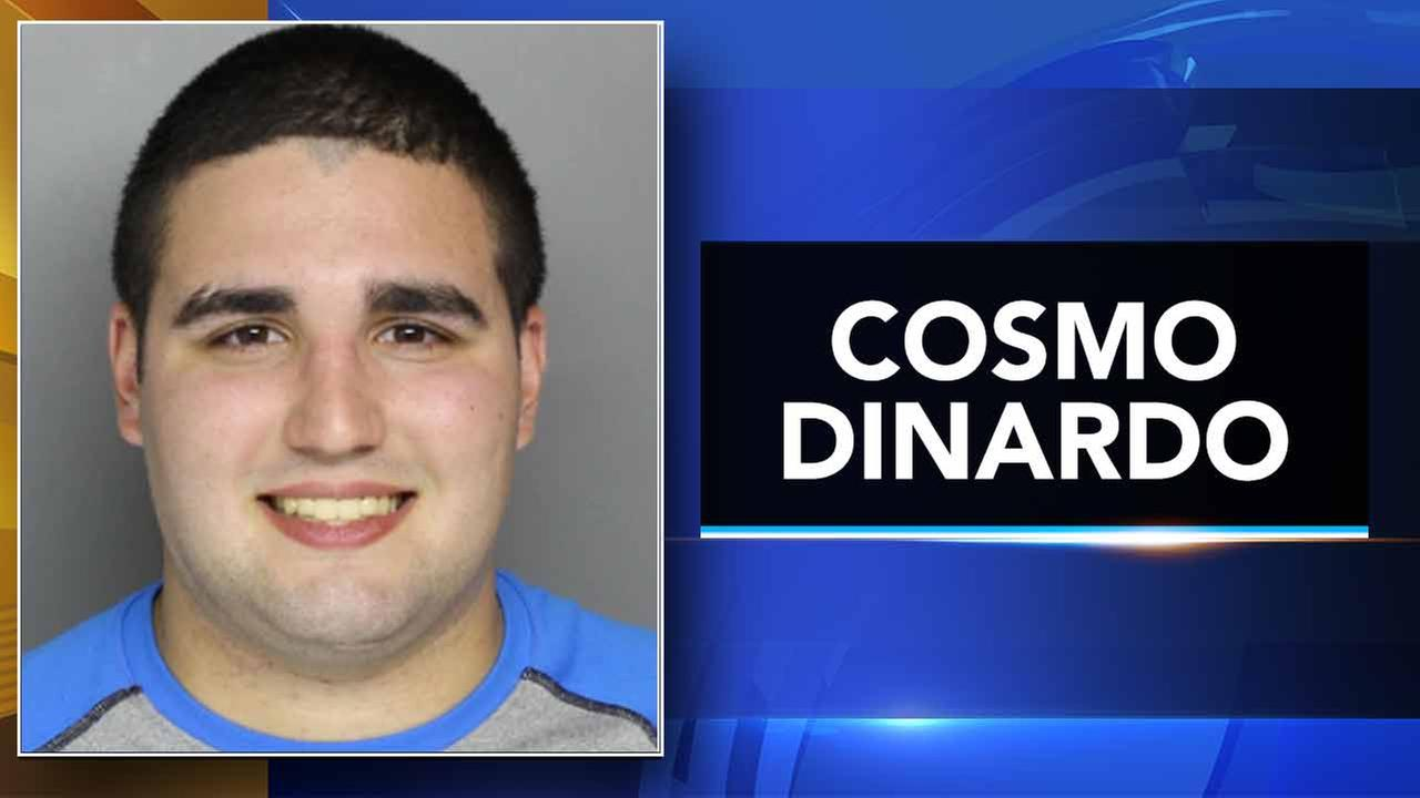 Booking photo of Cosmo DiNardo.
