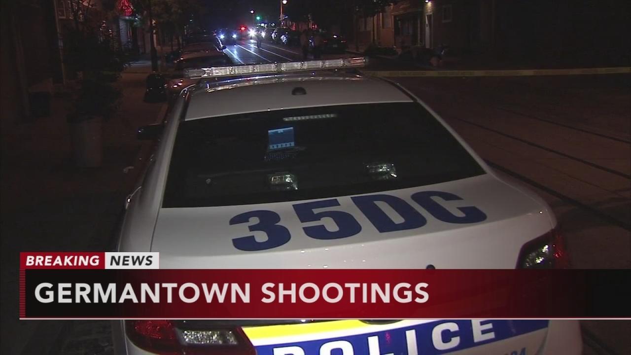 Two shootings in Germantown