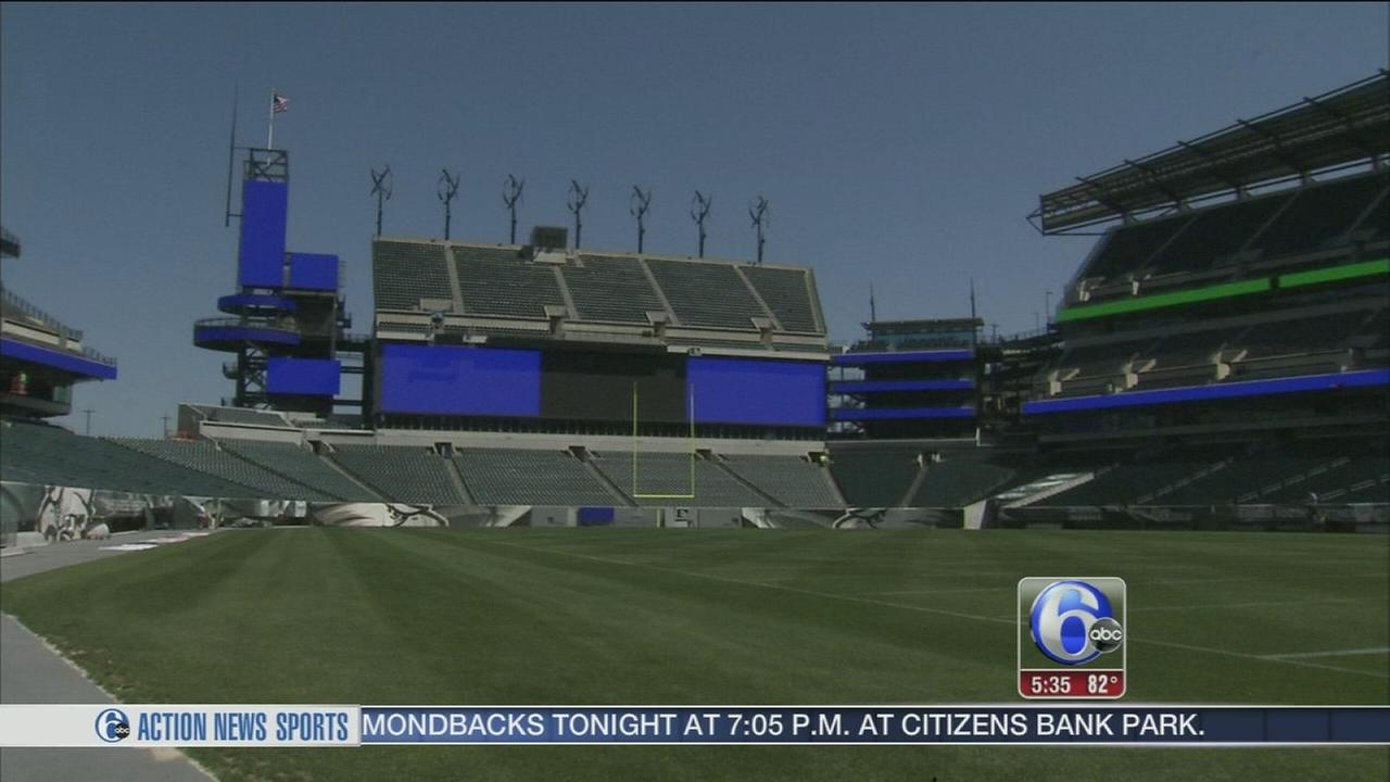 VIDEO: Big upgrades for Birds fans at the Linc