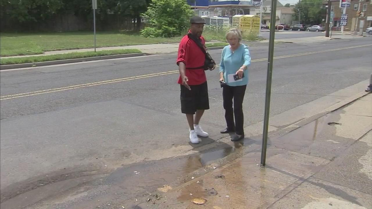 Trenton homeowner takes on water dept. over damage