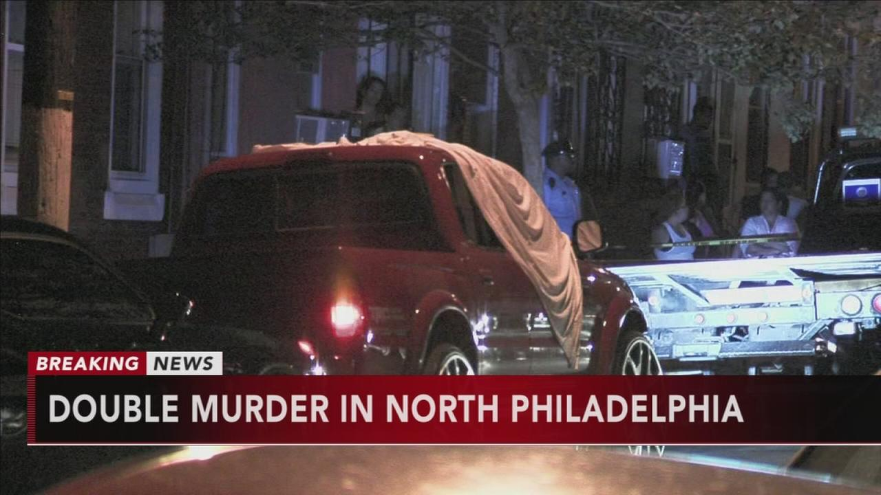 2 women shot, killed inside truck in North Philadelphia
