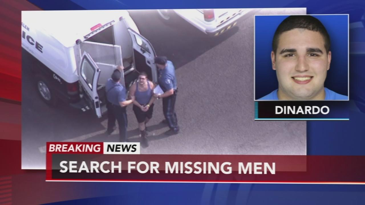 Person of interest in missing men case arrested again