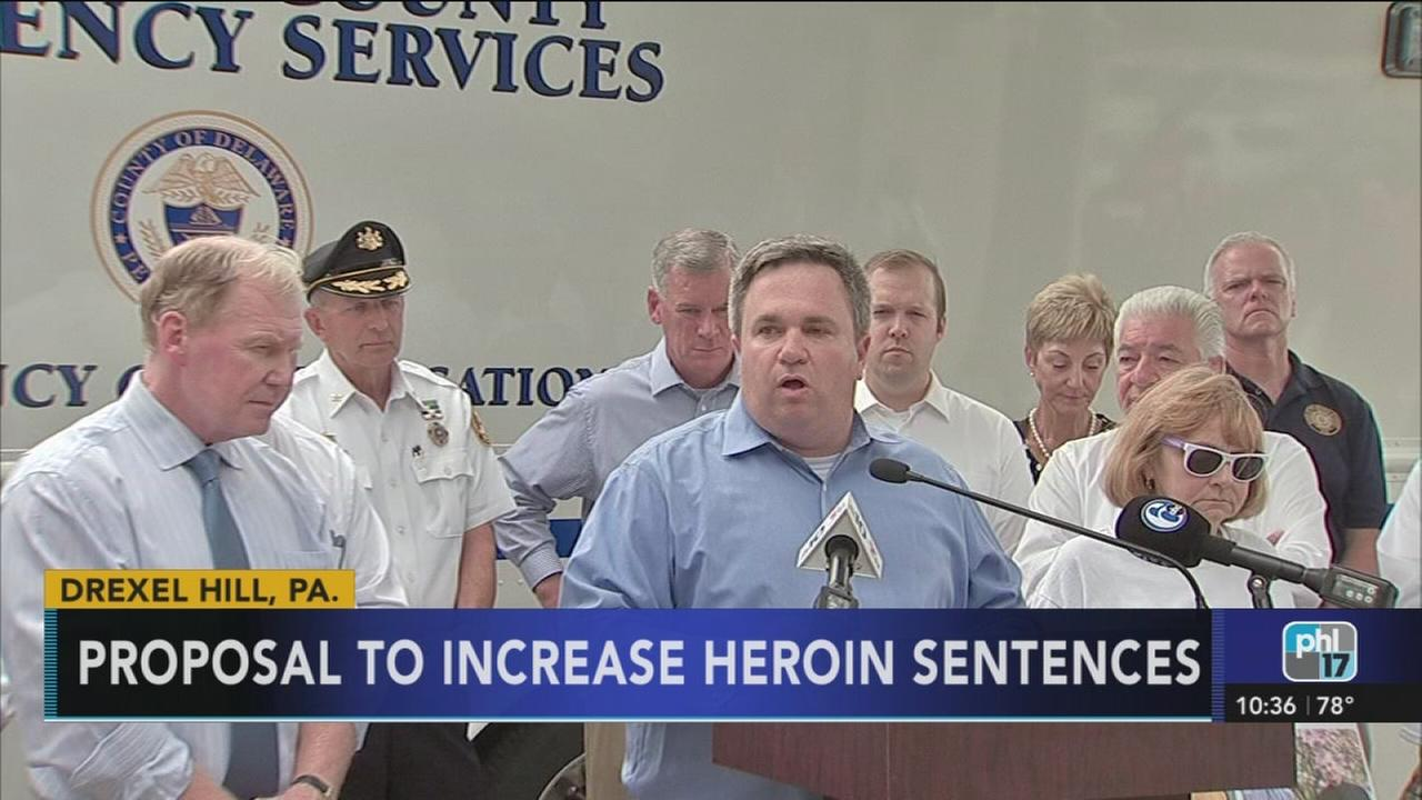 New proposal for sentencing Pa. heroin dealers