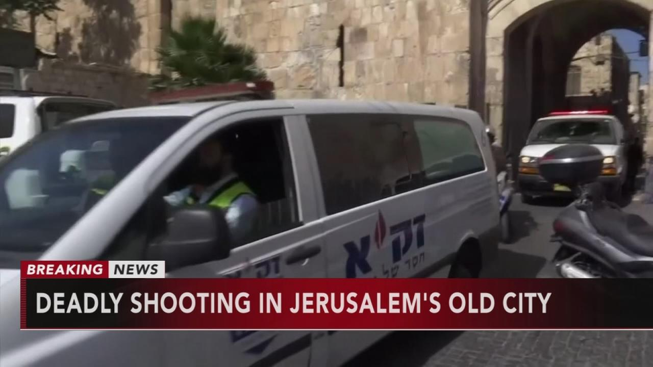 Deadly shooting in Jerusalem