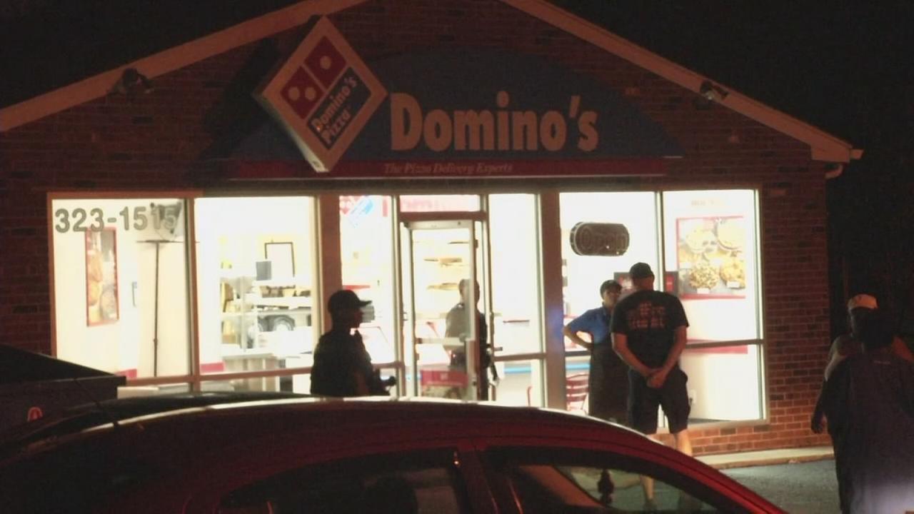 Armed robbers target pizza store