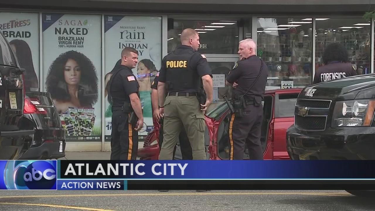 Woman struck by stolen vehicle in Atlantic City