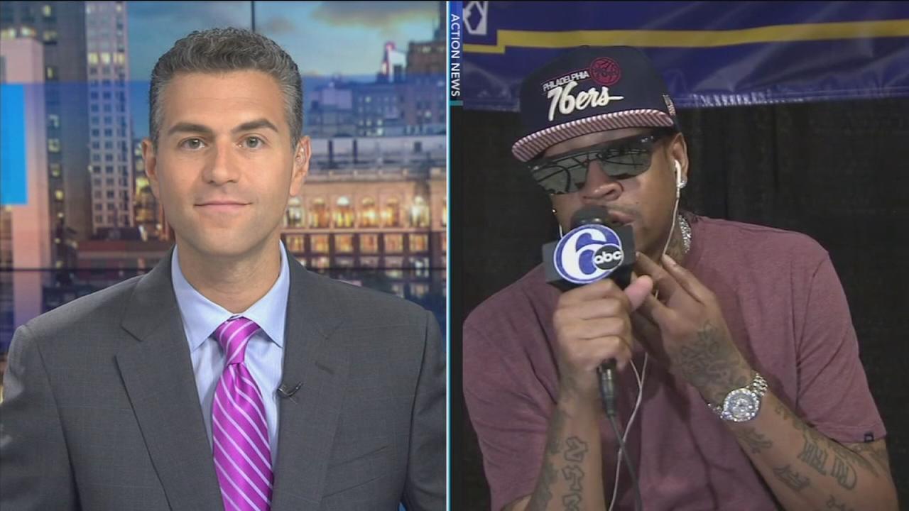 Jeff Skversky talks to Iverson on his return to Philadelphia