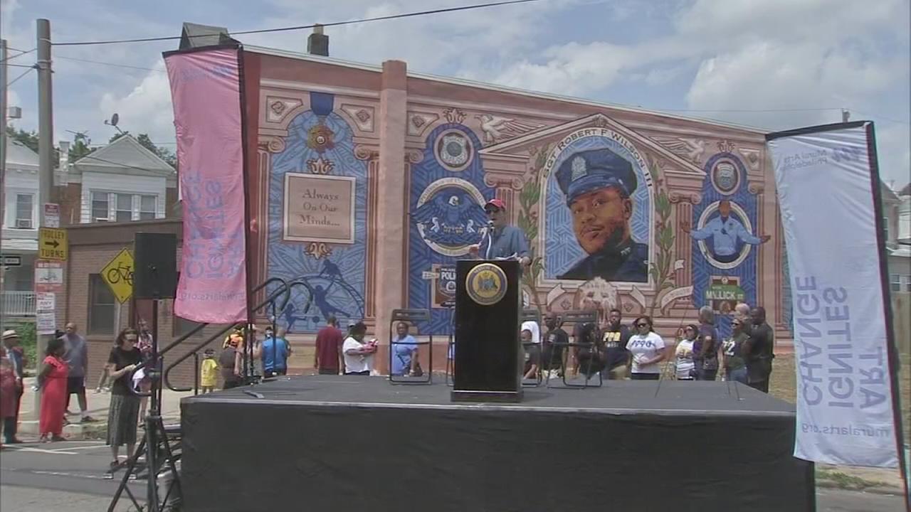 Fallen officer honored in Southwest Philadelphia