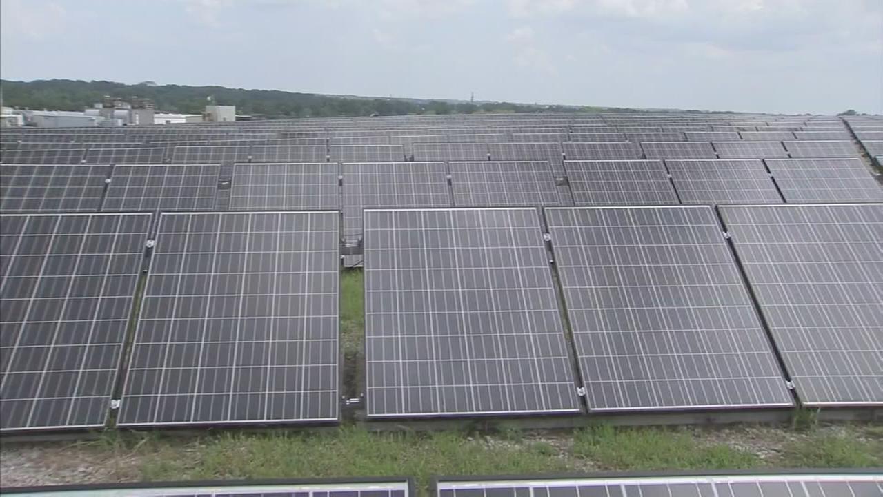 Solar landfill in Pennsauken