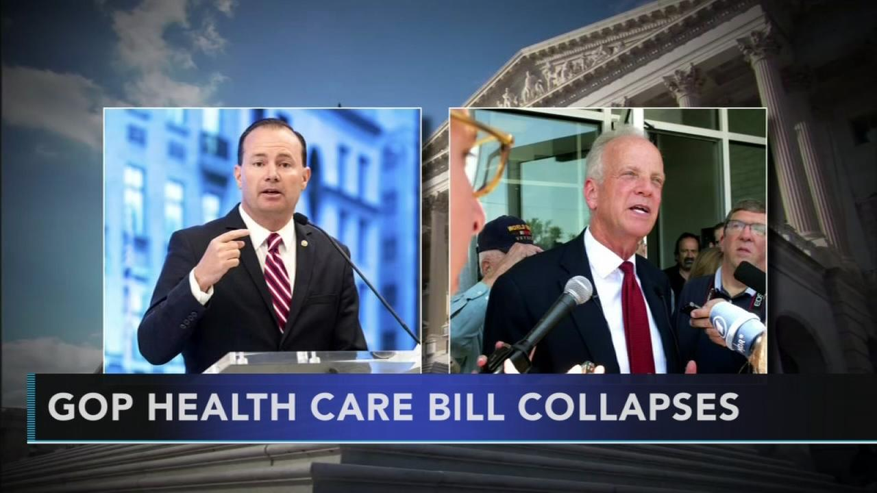 Health care bill collapses