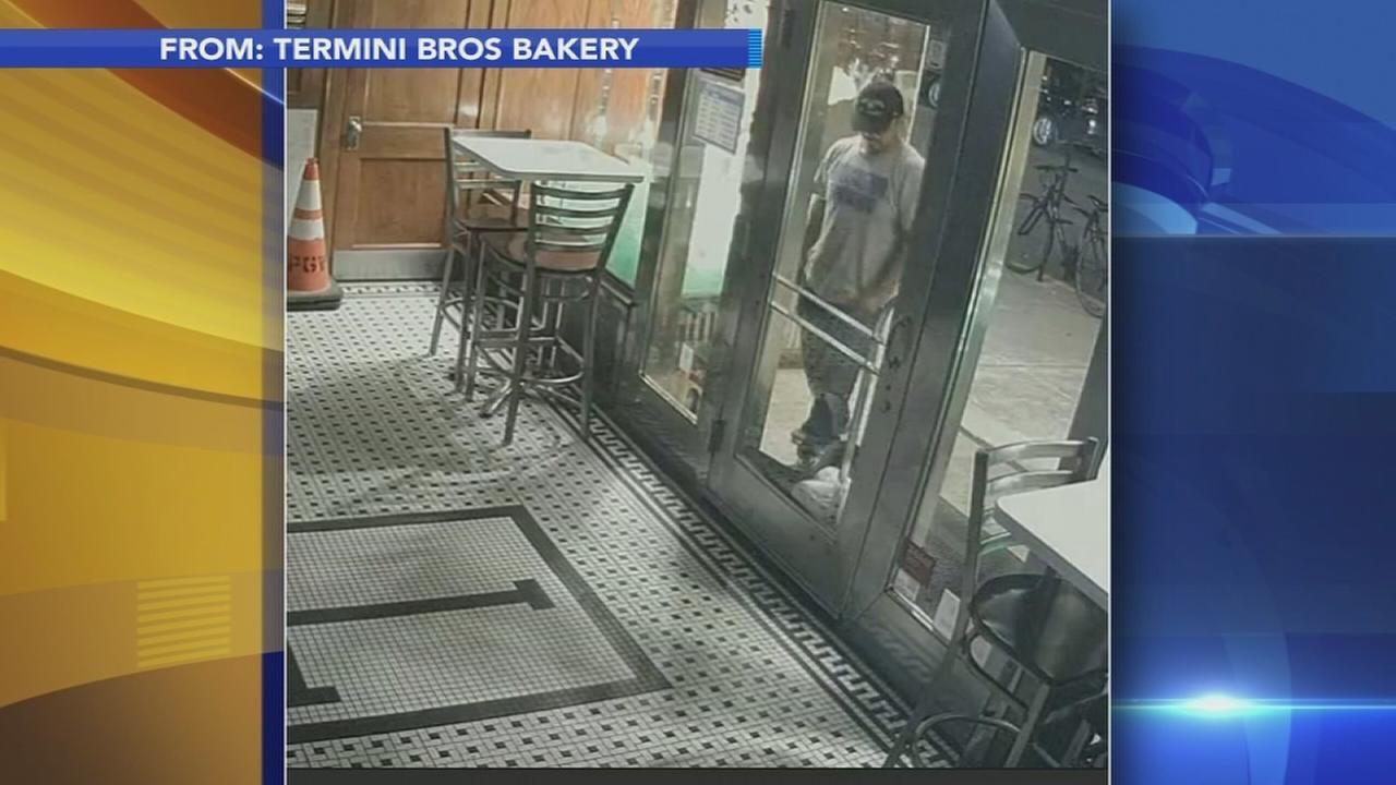 Thief steals bread from outside Termini Bros. Bakery