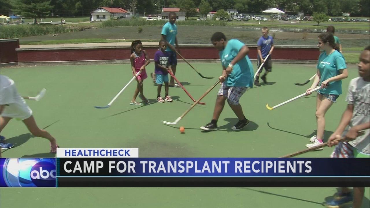 Gift of Life, Montco camp bring together young organ transplant recipients