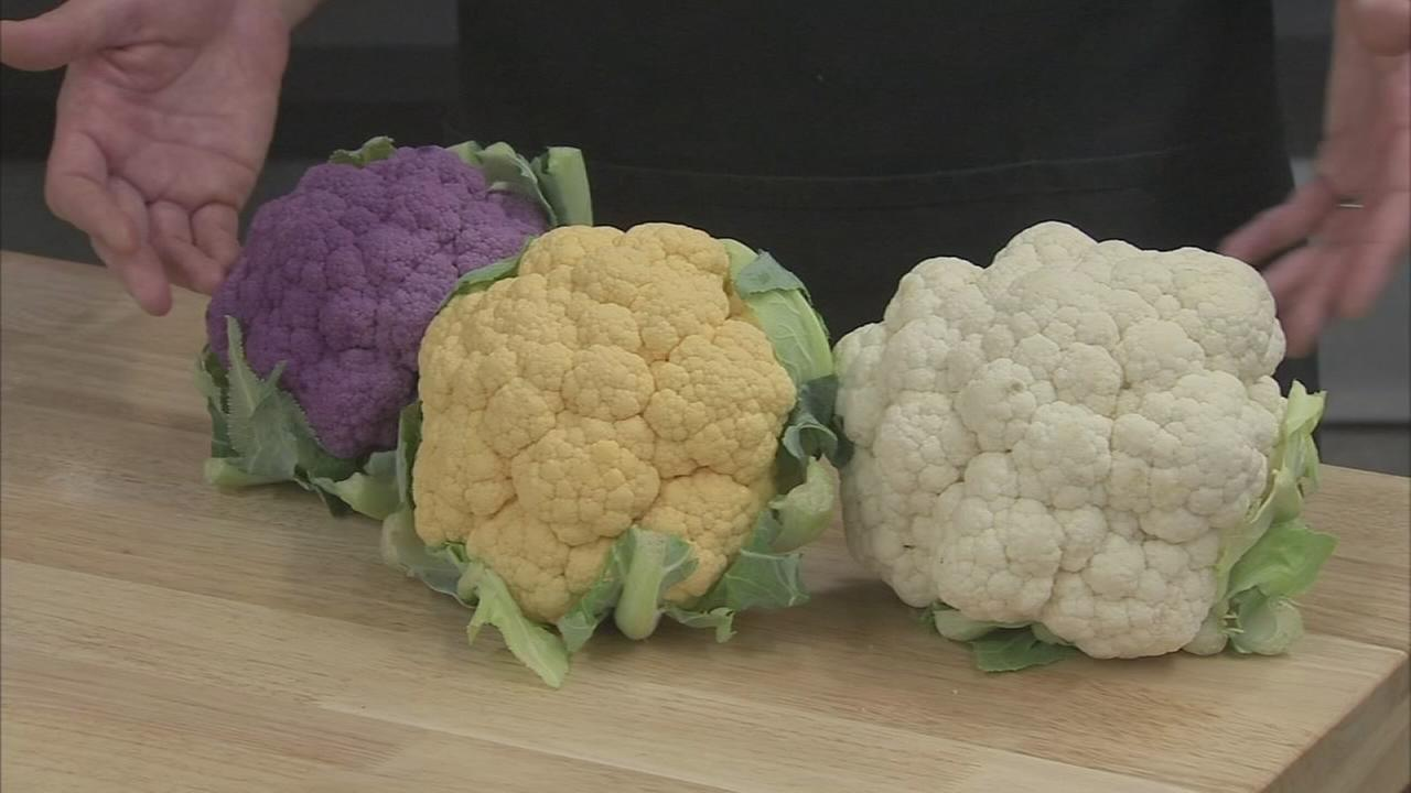 Todays Produce Tip: Picking the white, orange or purple cauliflower