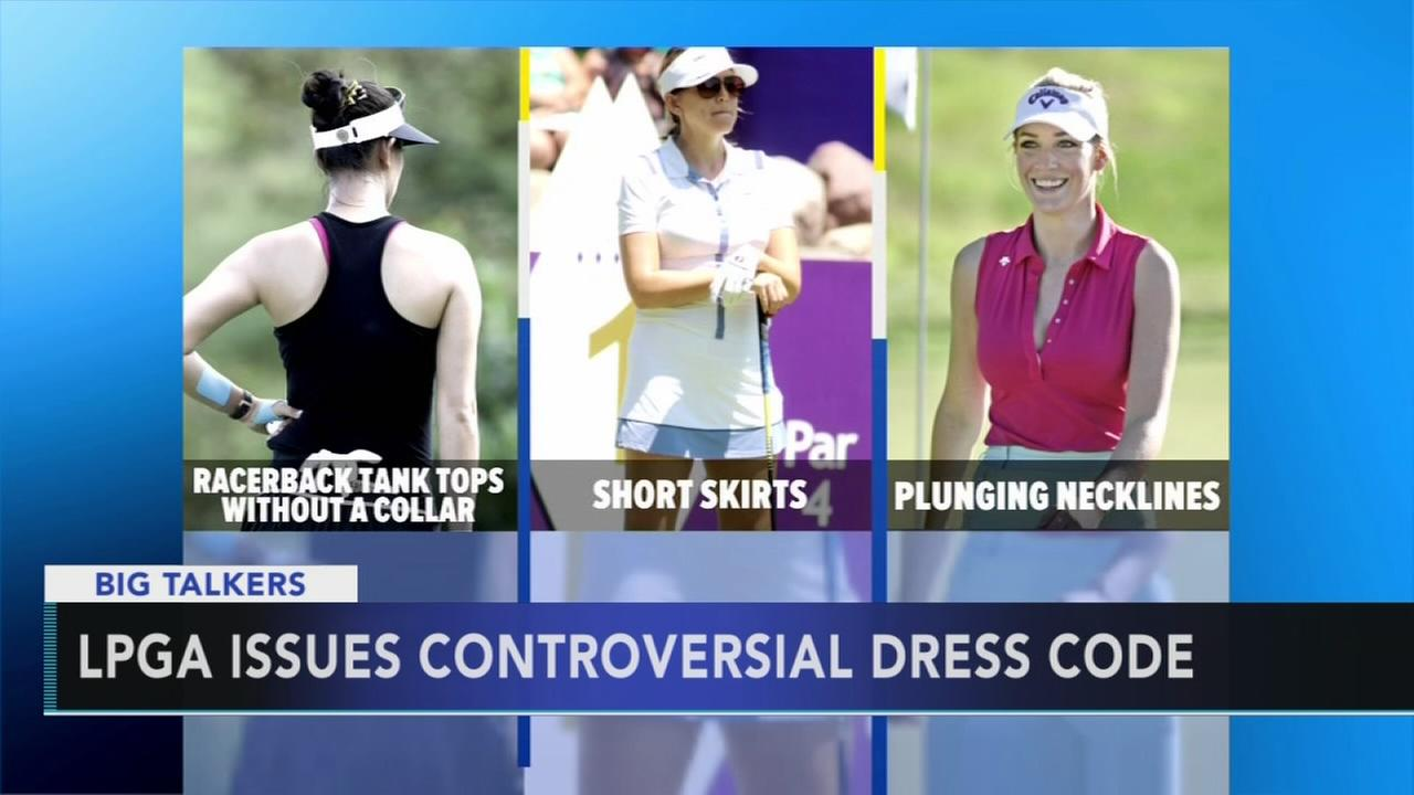 LPGA issues new dress code for female golfers