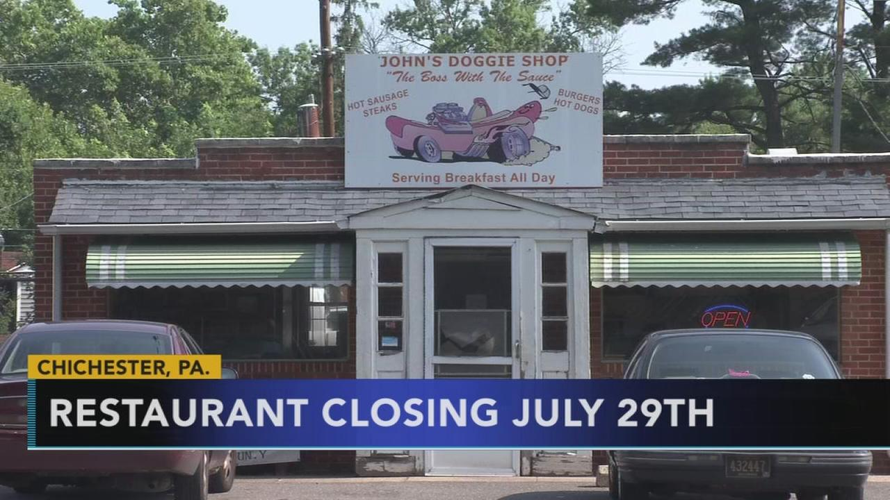 Iconic Delco hot dog shop closing its doors
