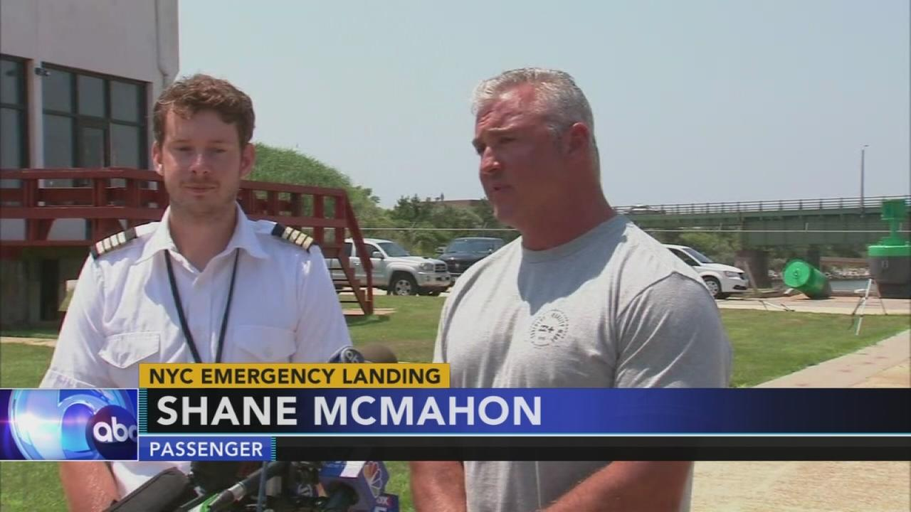 Helicopter carrying WWEs Shane McMahon crash lands in NY