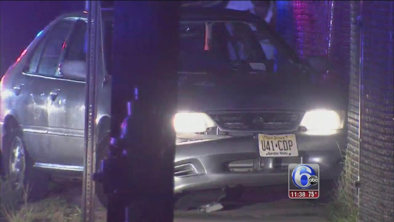 VIDEO: Man shot while driving in Camden
