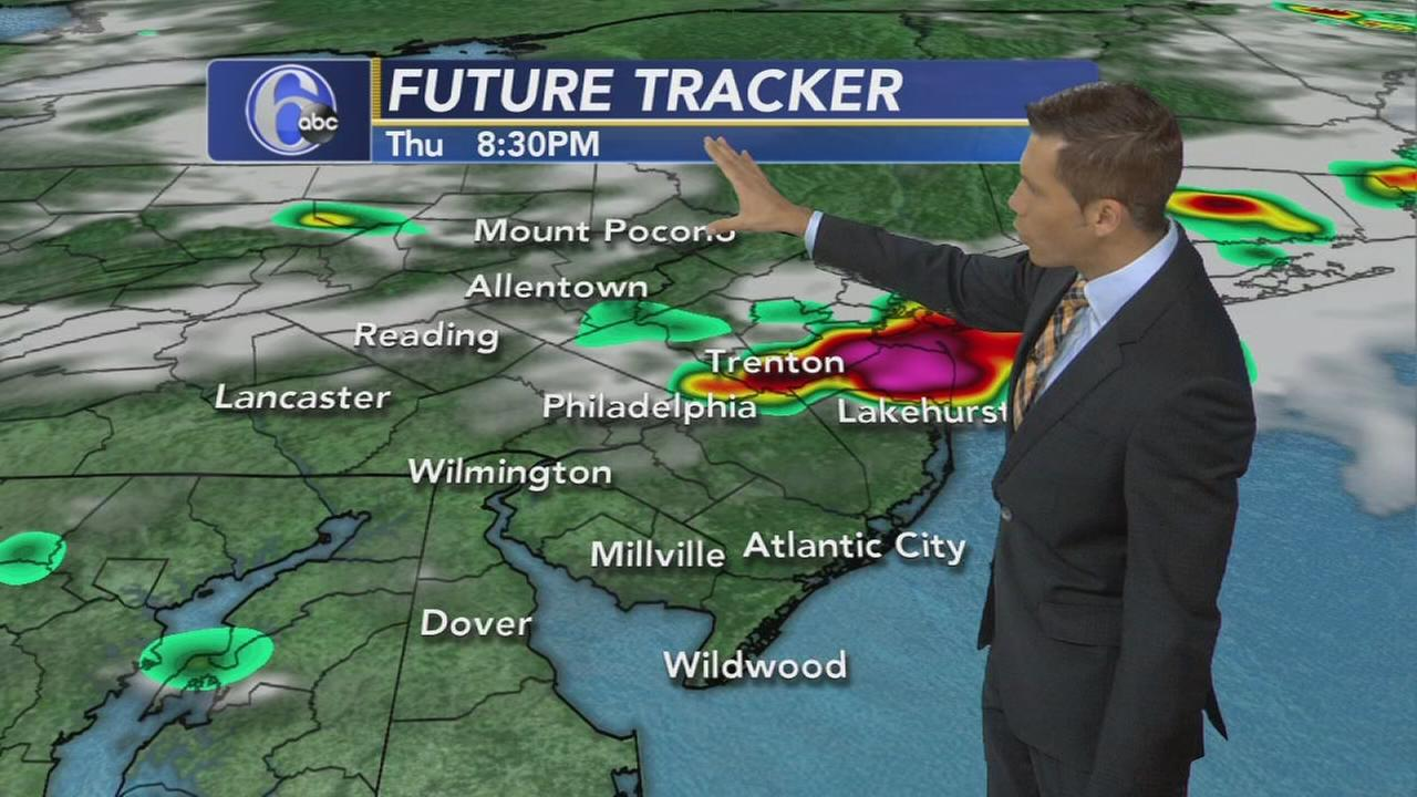 VIDEO: 6pm Accuweather