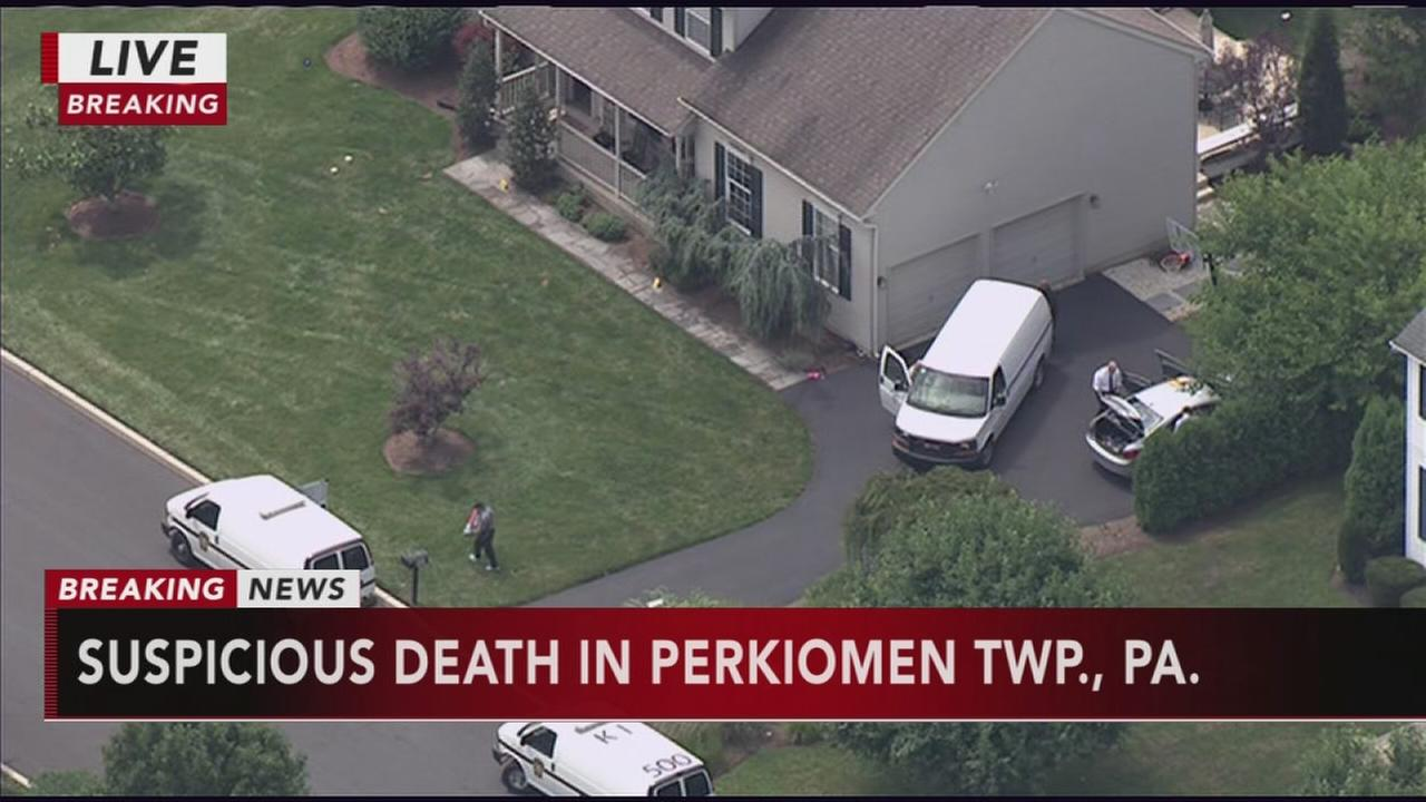 Suspicious death in Perkiomen Twp.