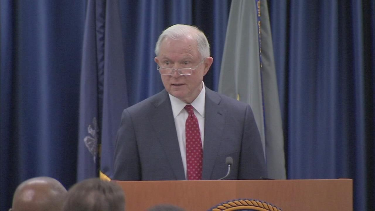 AG Sessions speaks in Philly