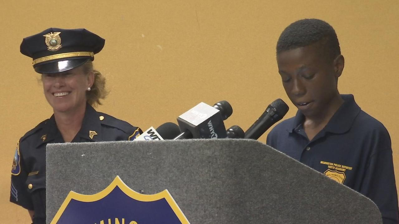 Wilmington Police Depts Youth Academy