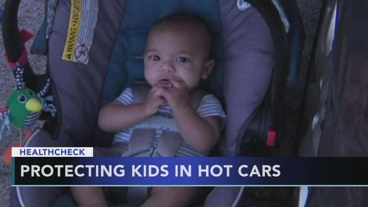 kids in hot cars