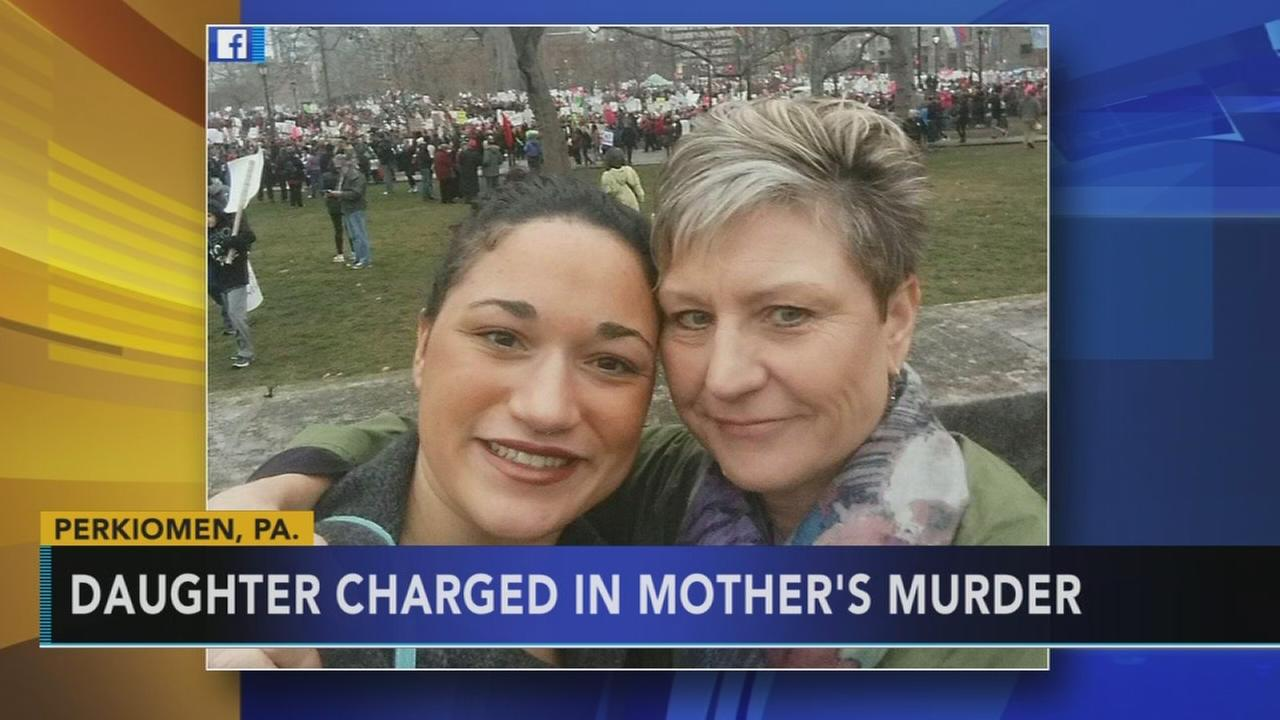 Daughter charged in moms death