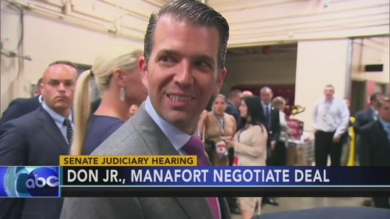 Don Jr strikes deal