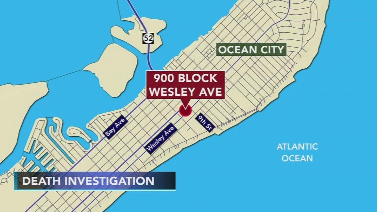 Death investigation underway in Ocean City, New Jersey