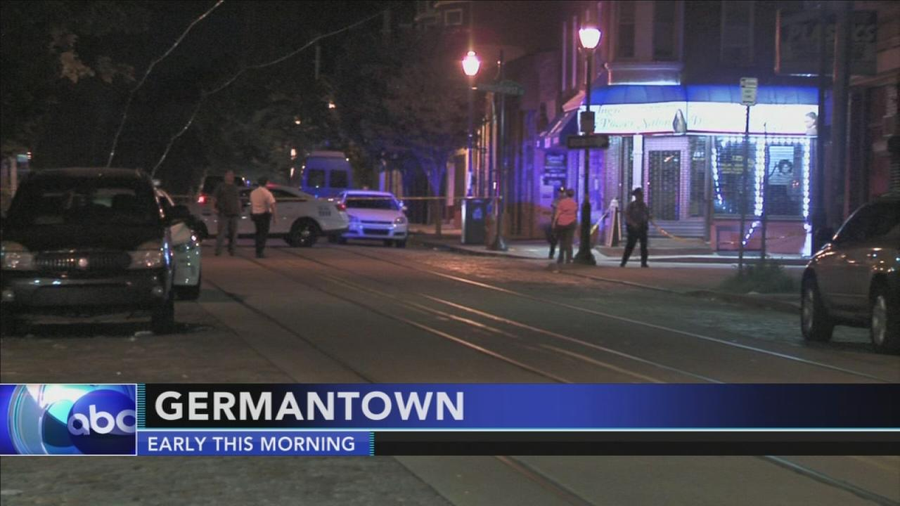 Gunfire leaves man wounded in Germantown section of Philadelphia