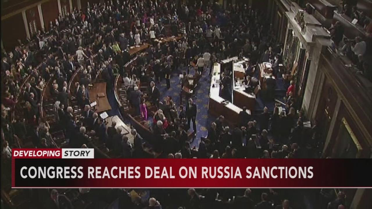 Trump reaches deal on Russia sanctions