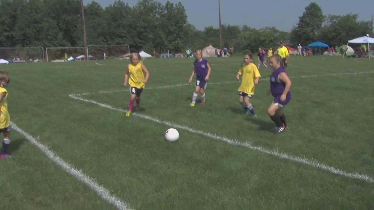 Sarah Parvin Memorial SoccerFest takes place in Quakertown.