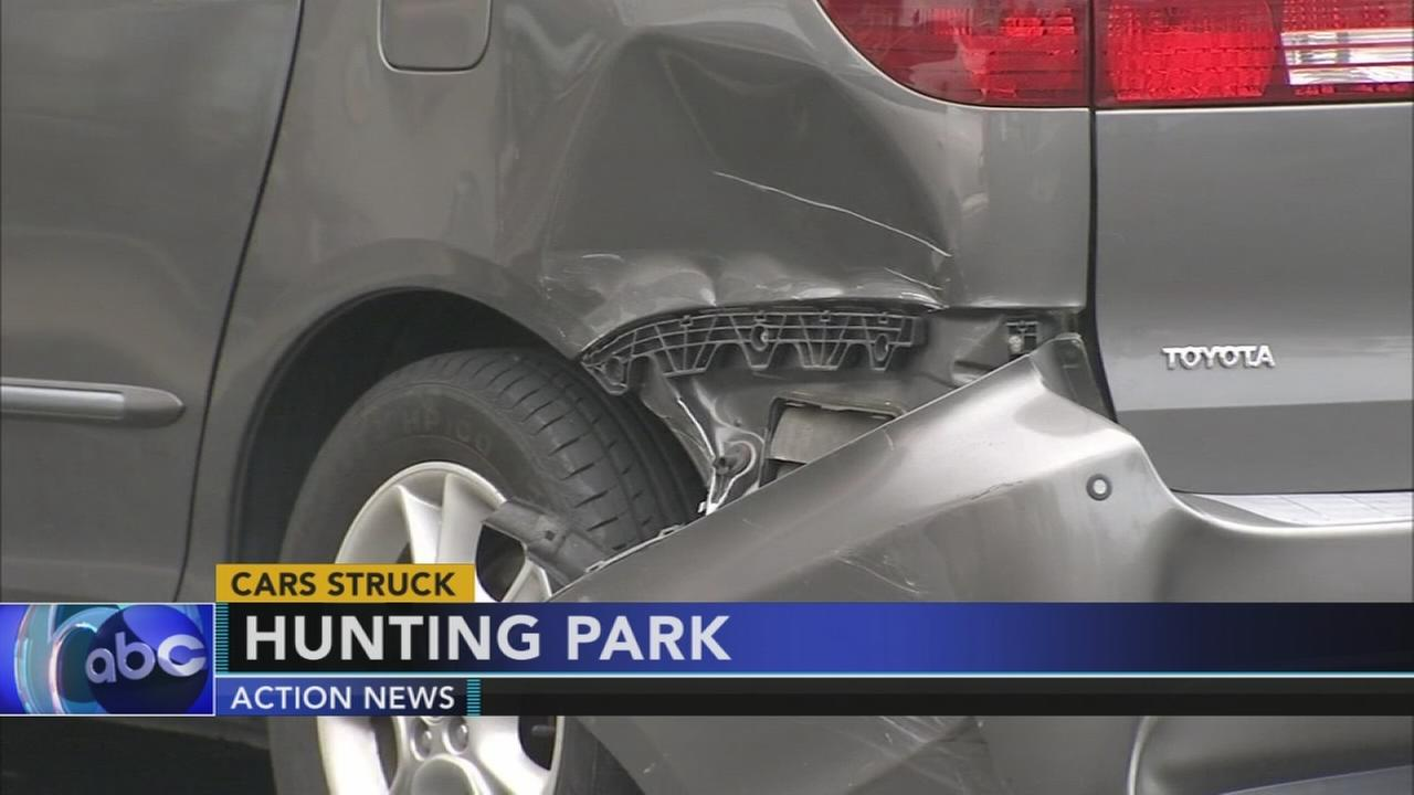 Out of control driver causes major damage in Hunting Park