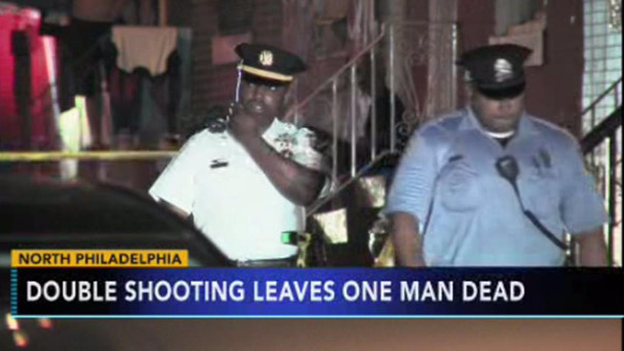 VIDEO: Double shooting leaves 1 dead, 1 critical