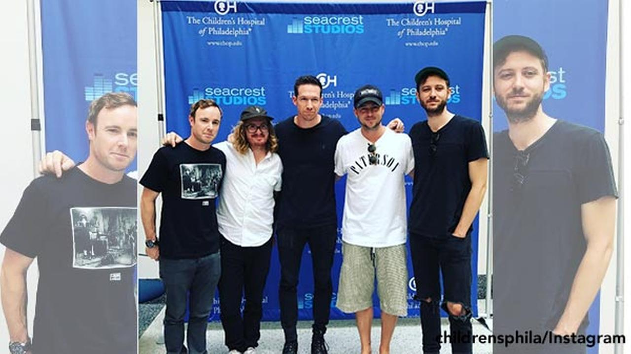 OneRepublic visits patients at Children's Hospital of Philadelphia